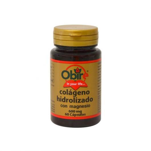 Colágeno marino hidrolizado con Magnesio Obire, 60 cápsulas