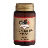 L-Carnitina e pigna 450 mg Obire, 90 capsule