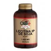 Lecitina di soia 1200 mg Obire, 200 capsule