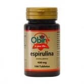 Espirulina 400 mg Obire, 100 capsule