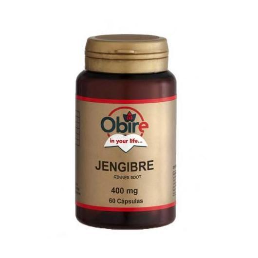 Jengibre 400 mg Obire, 60 cápsulas