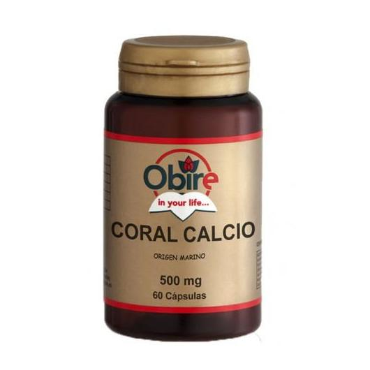 Calcio Coral 500 mg Obire, 60 capsule