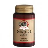 Diente de Leon 300 mg Obire, 60 cápsulas