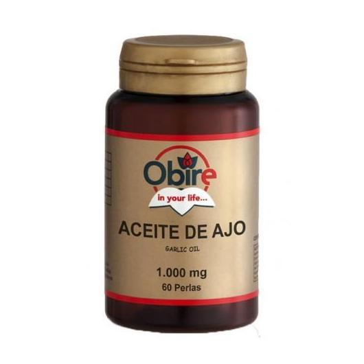 Ajo 1000 mg Obire,  60 cápsulas