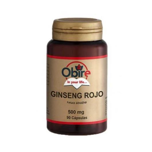 Ginseng Rojo 500 mg Obire, 90 cápsulas