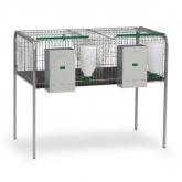 Cage à lapins pour alimentation