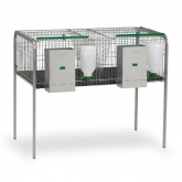 Rabbit fattening cage