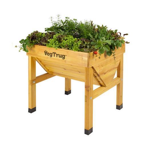Mesa de cultivo de madera Vegtrug mini
