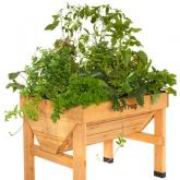 Vegtrug medium wooden elevated planter