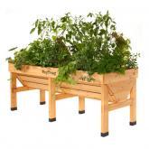 Mesa de cultivo de madeira Vegtrug grande