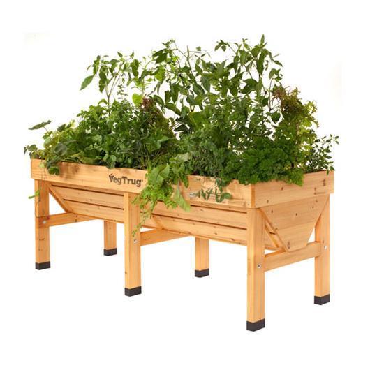 Tavolo da coltivazione legno Vegtrug grande