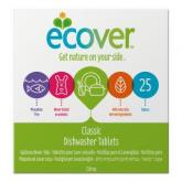 Sapone per lavastoviglie Ecover, 25 pastiglie di 20 gr