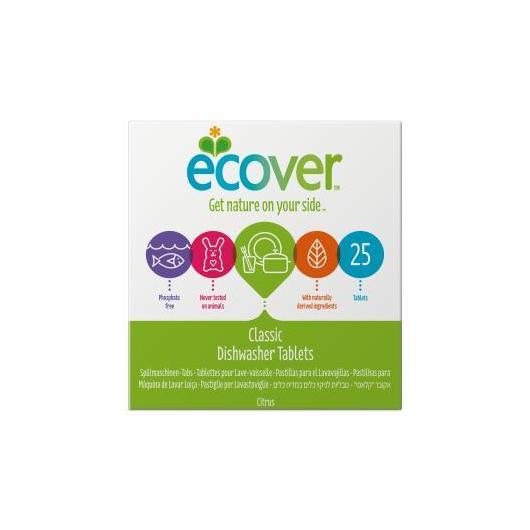 Détergent pour lave-vaisselle Ecover, 25 tablettes de 20 g