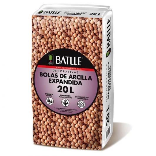 Substrat boules d'argile expansée 20 L