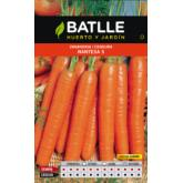 Semillas de  Zanahoria Nantesa 5 Cilindro