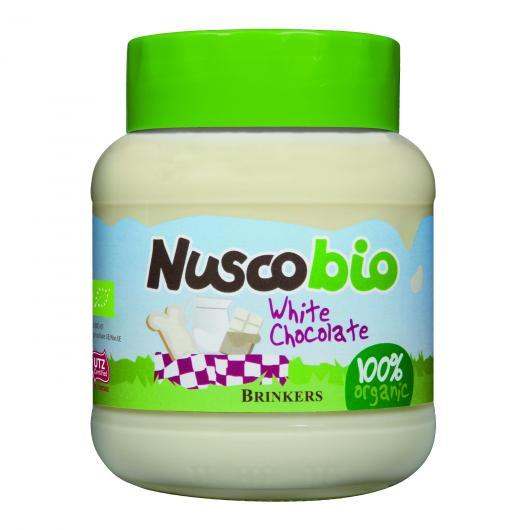 Crema Chocolate Blanco Nuscobio, 400 g