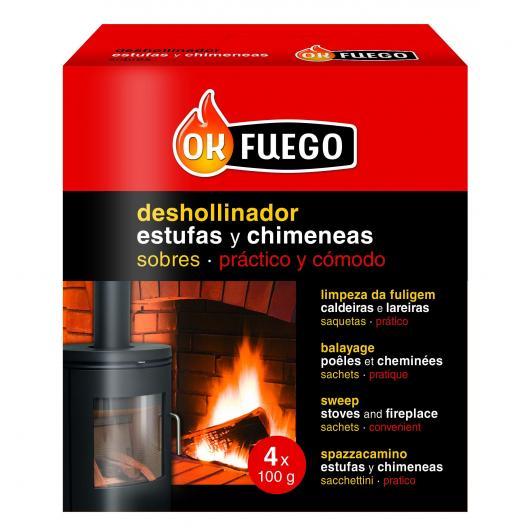 Anti-suie pour poêles et cheminées 4 x 100 g