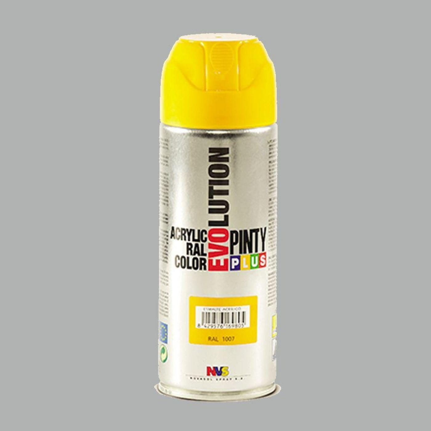 Pintura en spray evolution aluminio nvs 400 ml por 4 50 - Pintura para aluminio en spray ...