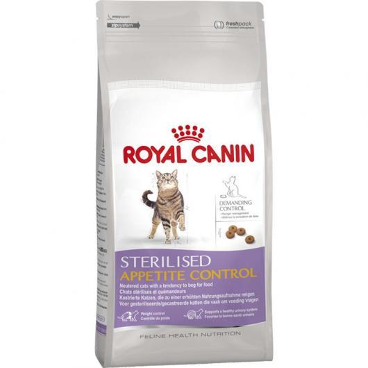Royal Canin Sterilised Appetite Control (Chats stérilisés et quémandeurs)