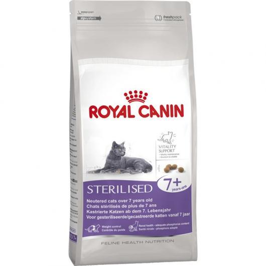Royal Canin Sterilised 7+ (Chats stérilisés +7)