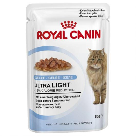 Royal Canin Ultra Light in Jelly 12x85gr