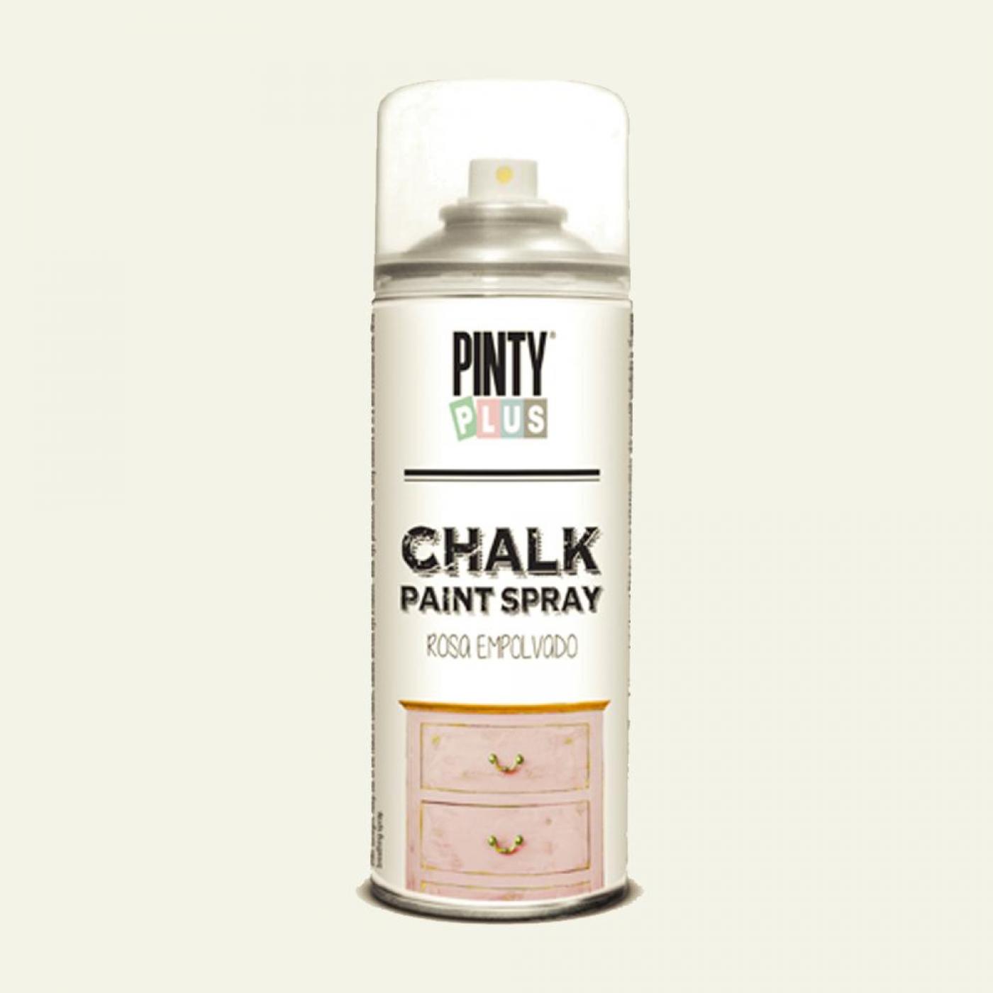 Pintura a la tiza chalk paint en spray blanco roto for Blanco tiza pintura