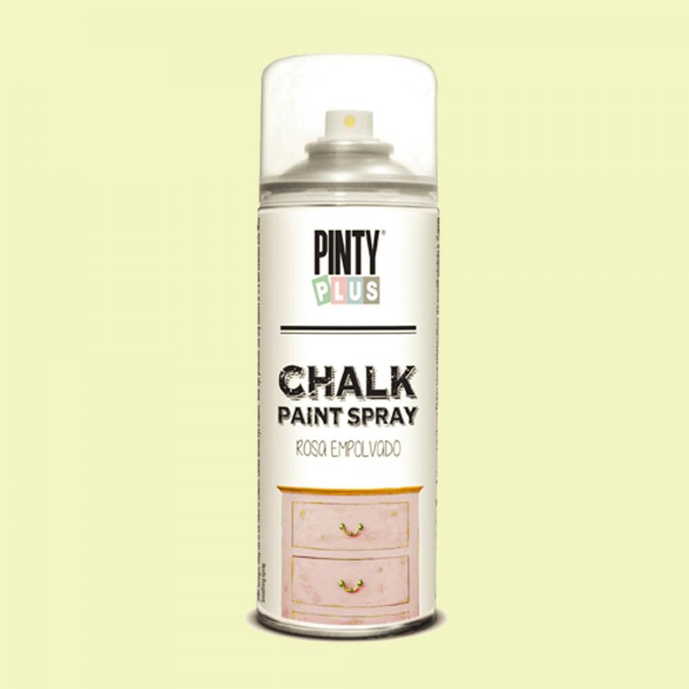 pintura a la tiza chalk paint en spray crema 400 ml
