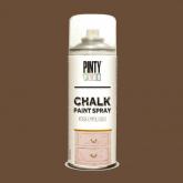 Spray de pintura do giz Marron Glace