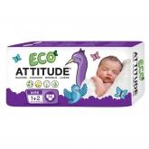 Pañales eco T1-2 (3-7 kg) Attitude, 36 unidades