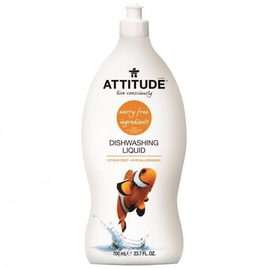 Lavastoviglie eco concentrato Pompelmo e Bergamotta Attitude, 700 ml