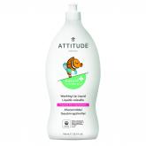 Detergente per lavastoviglie eco senza profumo pelle delicata Attitude, 700 ml