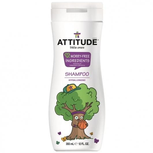 Champú eco para niños 2 en 1 Attitude, 355 ml