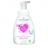 Shampoo, gel e Balsamo bebé eco 3 in 1 Attitude, 300 ml