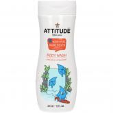 Gel de ducha para niños Attitude 355 ml eco