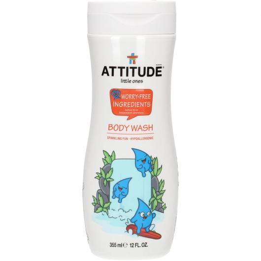 Gel da doccia per bambini Attitude, 355 ml