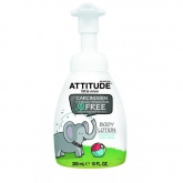 Loción Corporal eco peques sin perfume Attitude, 300 ml