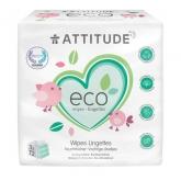 Toallitas eco para bebé Attitude, 3 X 72 unidades