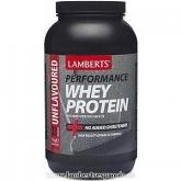 Whey Protein senza sapore Lamberts, 1 kg