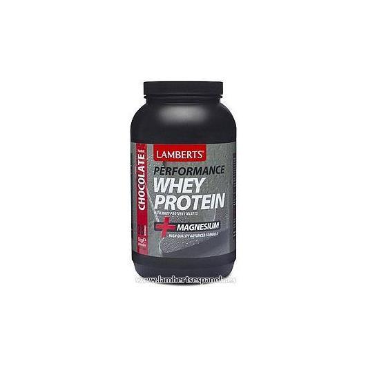 Whey Protein sabor chocolate Lamberts, 1 kg