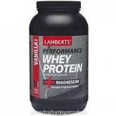 Whey Protein sapore vaniglia Lamberts, 1 kg