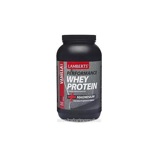Whey Protein sabor vainilla Lamberts, 1 kg