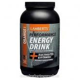 Bevanda energetica-Sapore Arancia Lamberts, 1 kg