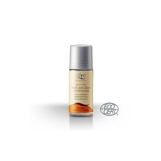 Déodorant à bille vanille et orange Alva, 50 ml