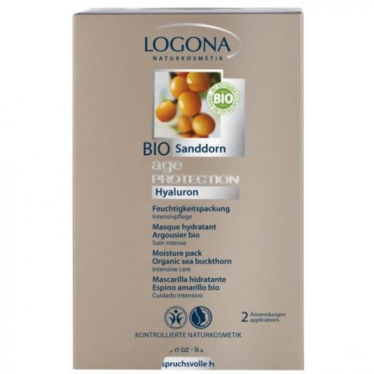 Mascarilla Hidratante Age protection Logona, 20ud