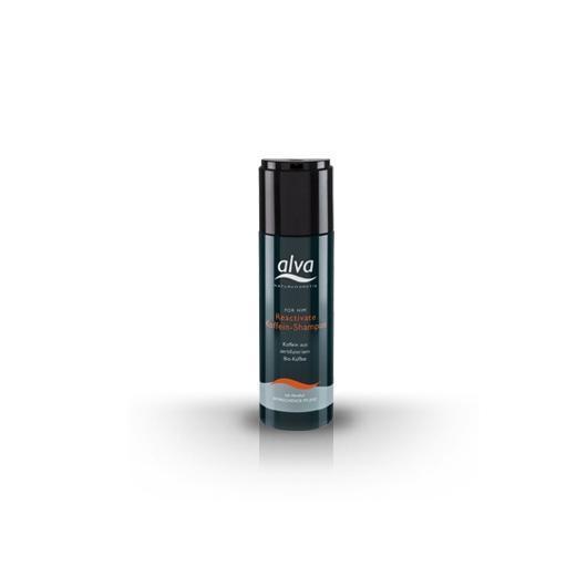 Shampoo con caffeina uomo Alva, 200ml