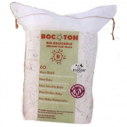 Coton pour bébés Maxi Bocoton, 60 pièces