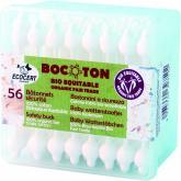 Cotonete especial crianças algodão bio Bocotton, 56 ud