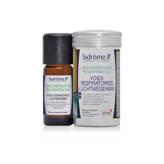 Huile essentielle bio voies respiratoires Ladrôme, 10 ml