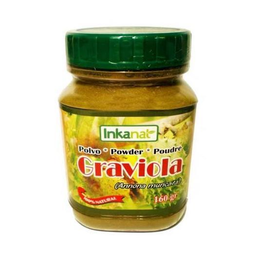 Graviola in polvere Inkanat, 160 g