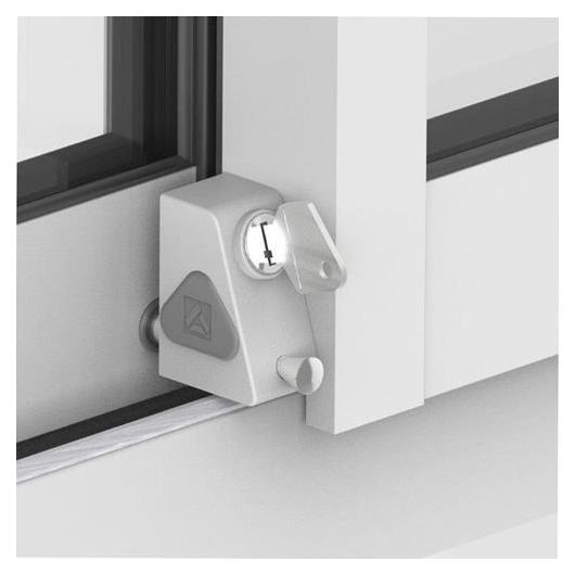 Bloqueo con llave para ventana corredera por 18 95 en for Ventanales de aluminio zona sur